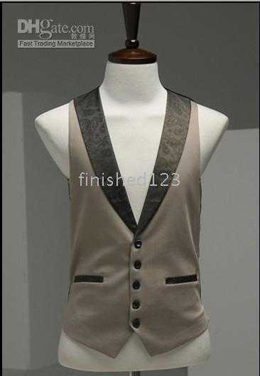 Wholesale New Arrival Men Wedding prom Clothing Groom Tuxedos Wear Bridegroom Vests Custom made