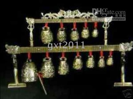 Wholesale Meditation Gong with Ornate Bells with Dragon Design