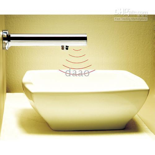 ball cock - Wall Mounted sensor faucet Electronic Faucet Touchless Faucet Automatic Tap all in one faucet hands free cocks