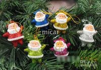 Wholesale Colorful Santa Claus Pendent cm Christmas Tree Ornaments Nice Christmas Decorations Hanging