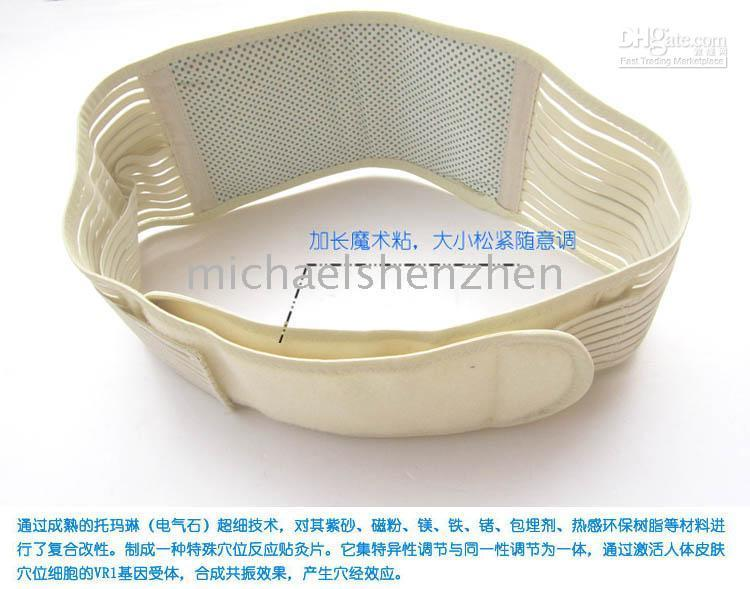 Wholesale Self heating protection belt far infrared magnetic therapy waist belt
