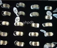 Wholesale Best Selling Rings Stainless Steel Turn Ring Mix Fashion Men s Jewelry S