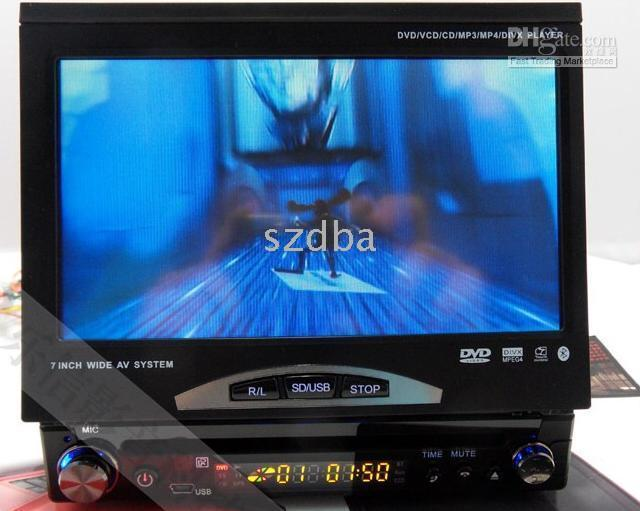 Wholesale DA inch digital screen car DVD single spindle with a single set common