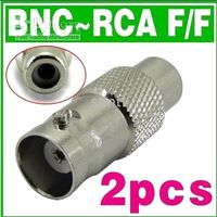 Wholesale BNC RCA BNC Female Jack to RCA Female Jack Adapter security accessories