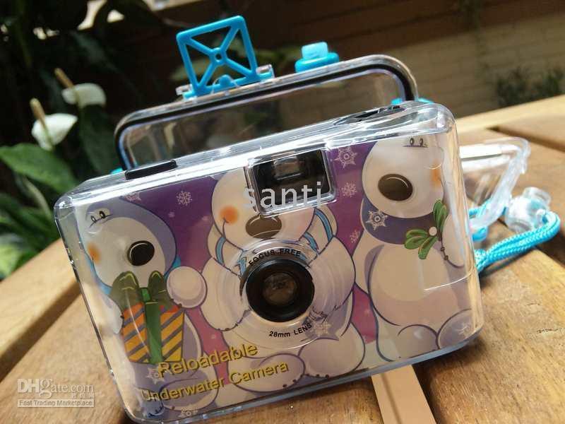 Wholesale Traditional film camera Diving camera fun camera Waterproof mm Camera Underwater Camera LOMO cam