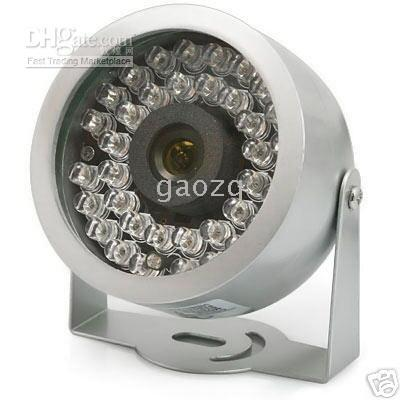Wholesale 30 LED Color CCTV CMOS Surveillance Video Audio Camera