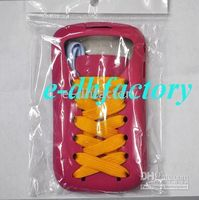 Wholesale HK post New New Shoes Sporty Silicone Case housing For blackberry Fashion
