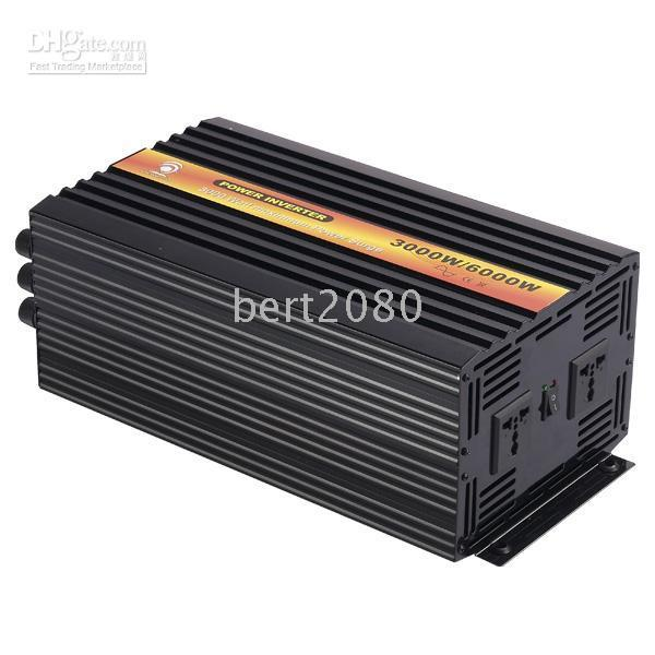 Wholesale Factory sell w pure sine wave solar power inverter with A charger