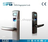 Wholesale Fingerprint door lock S330 electronic lock SmartLock Hotel Lock Top Quality