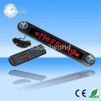 Wholesale hot sale Car V LED Sign Light Message Digital Moving Scrolling Screen Display Red