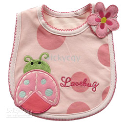 Wholesale - The Newest bibs baby bib pinnies Top Infant Saliva Towels 3-layer -WX331A