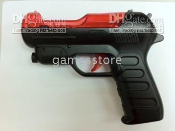 Wholesale New Arrival PS3 Move Game shooting GUN attachment Motion Controls ship by HK register post free