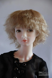 Wholesale Wholesales short slightly curl wig synthetic fiber from Japan colors Sizes