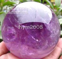 Wholesale Beautifui natural amethyst rock quartz crystal ball mm