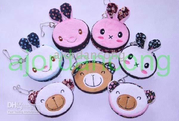 Wholesale by China Post Air Mail contact lens case set with mirror soft cloth model