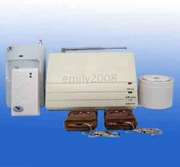 alarm telephone wiring - TELEPHONE ALARM SYSTEM PH T A Provide protection against burglary fire and gas leak