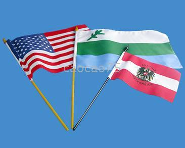 100% Polyester olympic flag - x cm national hand flag Olympic flag World Cup flag corporate flag