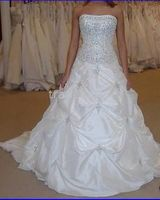 Wholesale New White Wedding Dress Custom Size