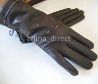 Wholesale Womens Real Leather Gloves skin gloves LEATHER GLOVES pairs New Design High quality