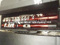 Wholesale New Arrival Advanced red C KEY flute With hard case