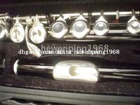 Wholesale New Arrival Advanced black C KEY flute With hard case