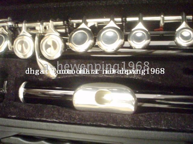 advanced flute - New Arrival Advanced black C KEY flute With hard case