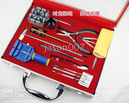 Wholesale change belt tools repair watch tools set stainless steel HIGT QUALITY a006