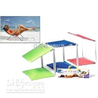 Wholesale 50pcs L Cush N Shade Canopy Sun Protection Portable Beach Deck