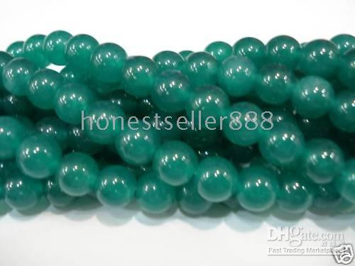 Wholesale New Come MM Beryl Gemstone Round Loose Beads inch