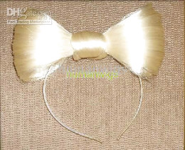 Wholesale Lady GaGa Vogue lady hair bow headband with hair bow