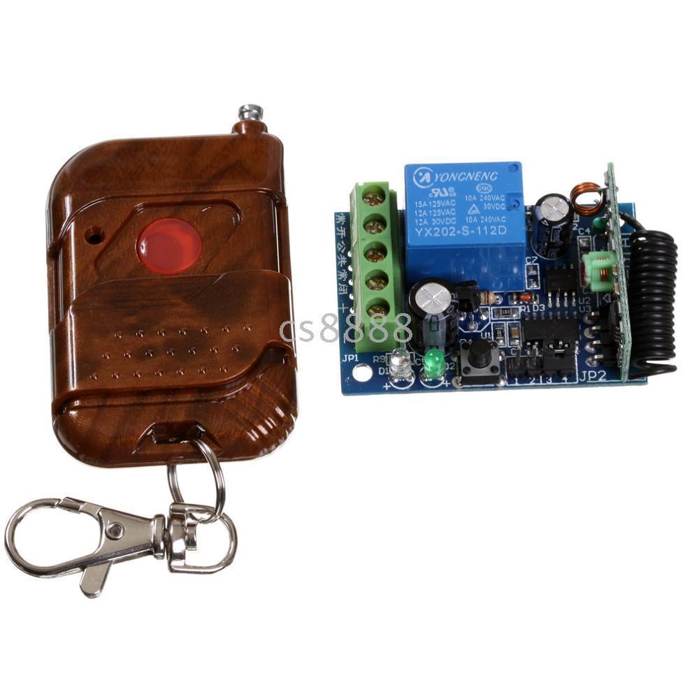Wholesale 1CH Wireless Remote Control Switch Board amp Remote Control
