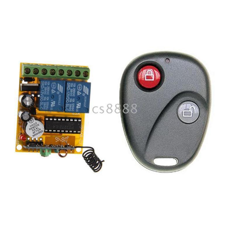 Wholesale 315MHz MHz Wireless Remote Control Switch System AK RK02B AK BF02