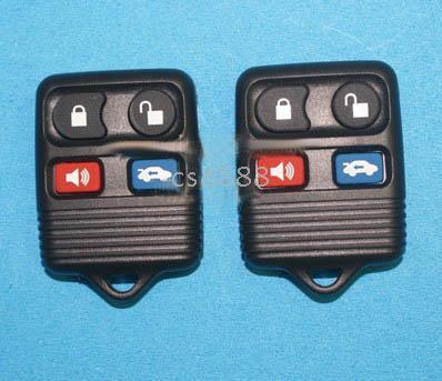 Wholesale 5 ford car key case buttons MUSTANG KEY REMOTE control replacement by free shipment