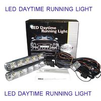 Wholesale 20 TO UK GERMANY FRANCE AUTO LED LED DAYTIME RUNNING LIGHT LED DECORATION LIGHT DRLs SYSTEM