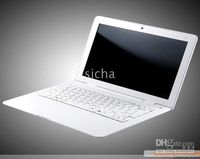 Wholesale 1pcs appl a e Netbook inch Intel Atom N280 WIFI netbook GB laptop window XP mAH