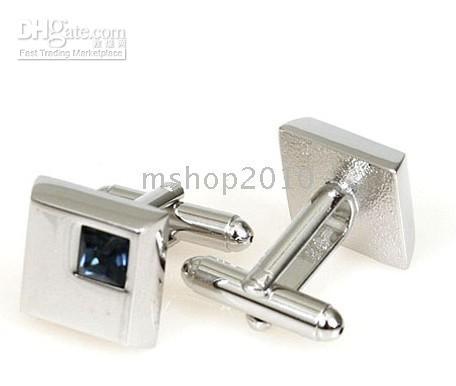 Wholesale For sale Quality men s cufflinks Purple opal cufflinks box ZX001