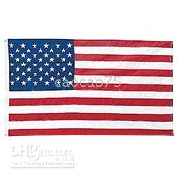 Wholesale NEW x foot Polyester US FLAG x US U S AMERICAN FLAGS
