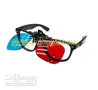 Wholesale 100 New D Glasses Red Blue For near sight short sight Myopia