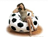 Wholesale Inflatable Soccer Ball Sofa Inflatable Bag Chair