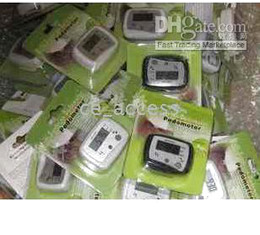 Wholesale Nutrition and exercise Pedometer Step Calorie Counter NEWEST IN STOCK