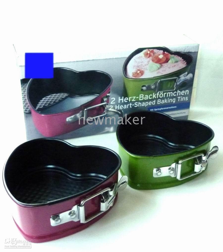 heart shape pan - Cake Pans Baking Pans Two Heart Shape Tins