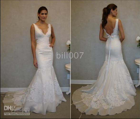bridal wedding dresses custom trumpet merma bill007 ebay wedding hot