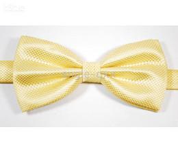 men's bow tie factory men's ties 10 colors neck ties men ties yellow tie 50pcs lot