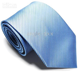 Mens Ties Necktie tie Neck TIE Stripe factory's tie men's ties sky blue cravat
