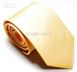 new styles Mens Ties Necktie tie Neck TIE yellow ties factory's tie men's ties 12 COLORS 100 lot