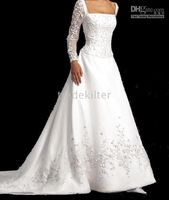Wholesale white ivory wedding dress size freely