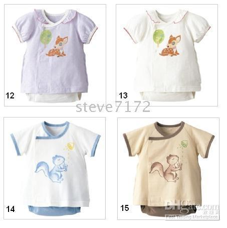 100% Cotton   COMBI Romper Baby Bodysuits rompers Shirt Tops PP pants Shirts Costumes infant jumpers jumpsuits ZW5