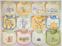 bibs baby bib pinnies scarves shawl handkerchief muffles baby wipes neckcloth baby neckerchief CL322