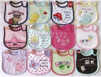 Wholesale bibs baby bib pinnies scarves shawl Infant towels set muffles wipes neckcloth baby neckerchief CL324