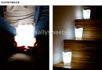 Wholesale 20pcs Creative Milk Cup LED Night Light Cool Electronic Gadgets Lamp nice Christmas gift
